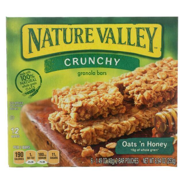 Oats 'n Honey Granola Bars 8.9 oz