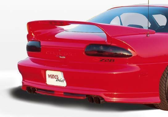 KBD Body Kits Type J 1 Pc Polyurethane Rear Lip For Chevrolet Camaro 1993-2002