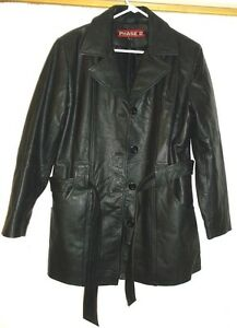 Women S Genuine Black Leather Jacket Lined By Phase 2 India