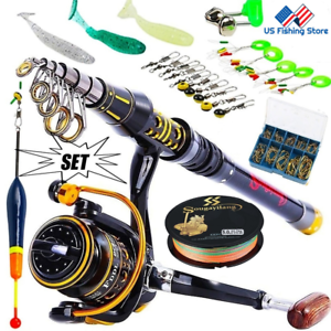 Sougayilang-Telescopic-Fishing-Rod-With-Spinning-Reels-Combos-Fishing-Reel-Pole