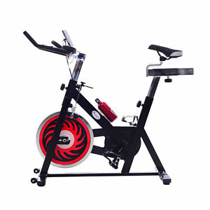 Upright-Exercise-Bike-Bicycle-Cardio-Pedal-Cycle-Belt-Drive-Trainer-LCD-Monitor