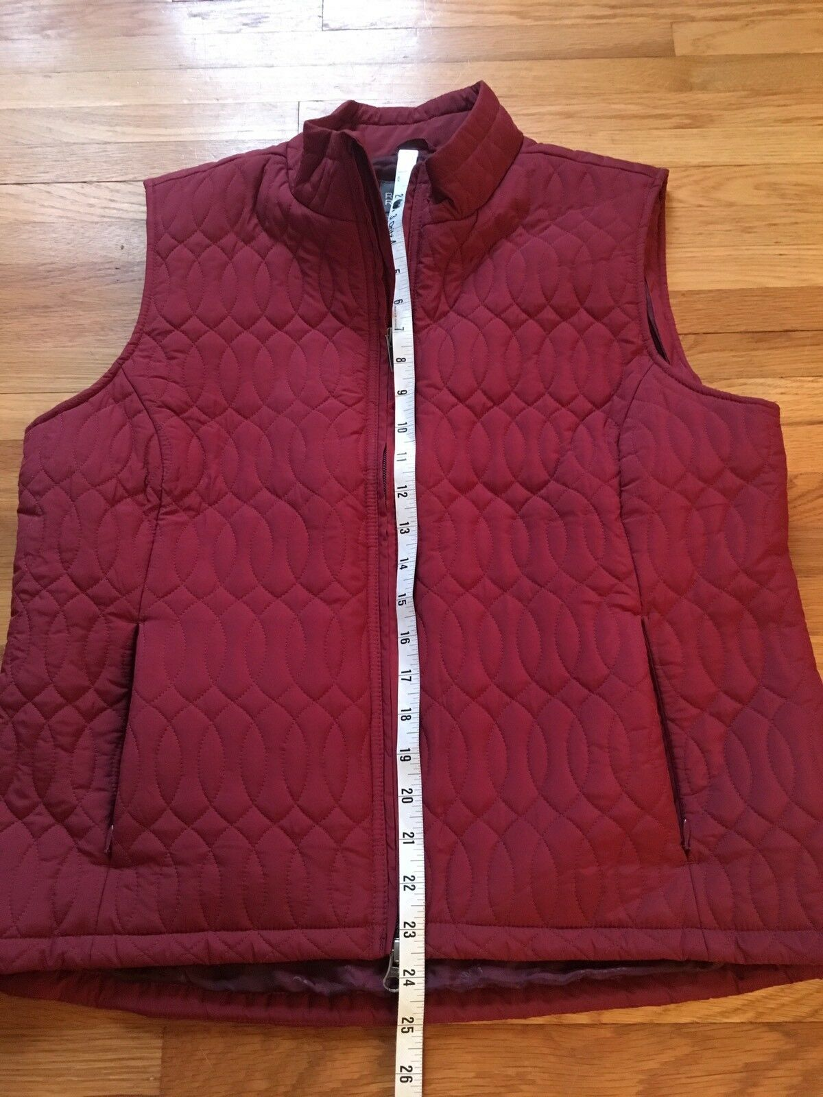 Women's ROYAL ROBBINS Puffy Quilted Vest     Large   Red b026de