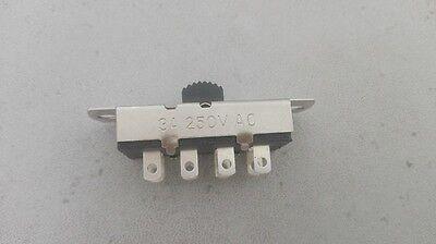 1pc 6-Way 6P3T 125V-250V 3A Slide ON/ON/ON Switch,S303