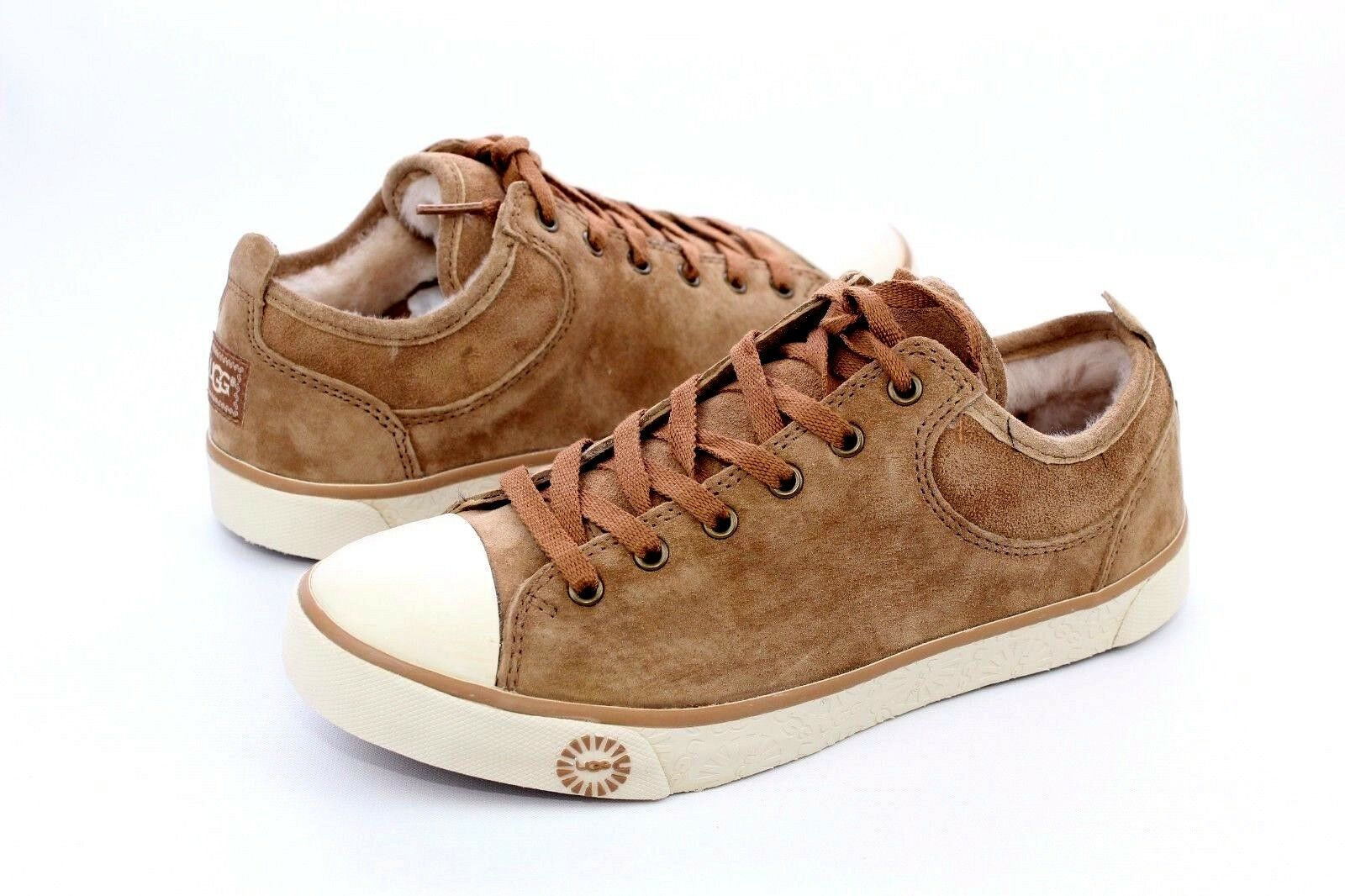 ugg australia women s evera chestnut sneakers 1888 6 ebay rh ebay com