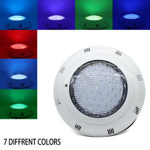 Details about AC12V RGB Swimming LED Pool Lights 36W/45W underwater light  IP68 Waterproof Lamp