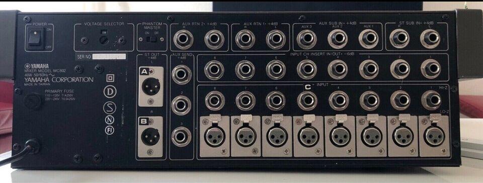 Mixer, YAMAHA MC802