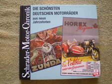 Deutsche Motorräder - BMW Horex DKW Simson NSU MZ Trumph, Zündapp ...
