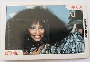 1986 DANDY Rock/'N Bubble EDDIE MURPHY Playing CARD
