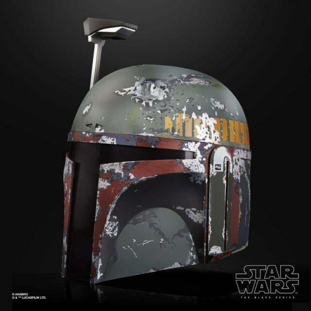 Star Wars The Black Series Boba Fett PREMIUM Electronic Helmet- IN HAND!!!
