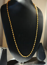 Elegant Women Men 18K Yellow Gold Plated Snake Chain Necklace Jewelry  h77