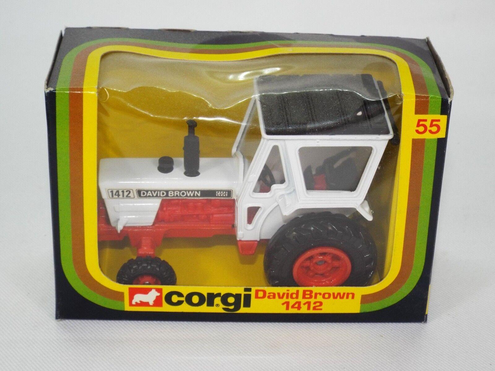 Corgi Original Serie Nº 55 es el modelo de la vnmb David Marronee 1412 Tractor