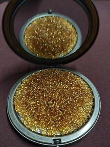 TOHO 8//0 Rocailles 3mm 10//20g Gold Topaz mit Silbereinzug Code 22B dark gold