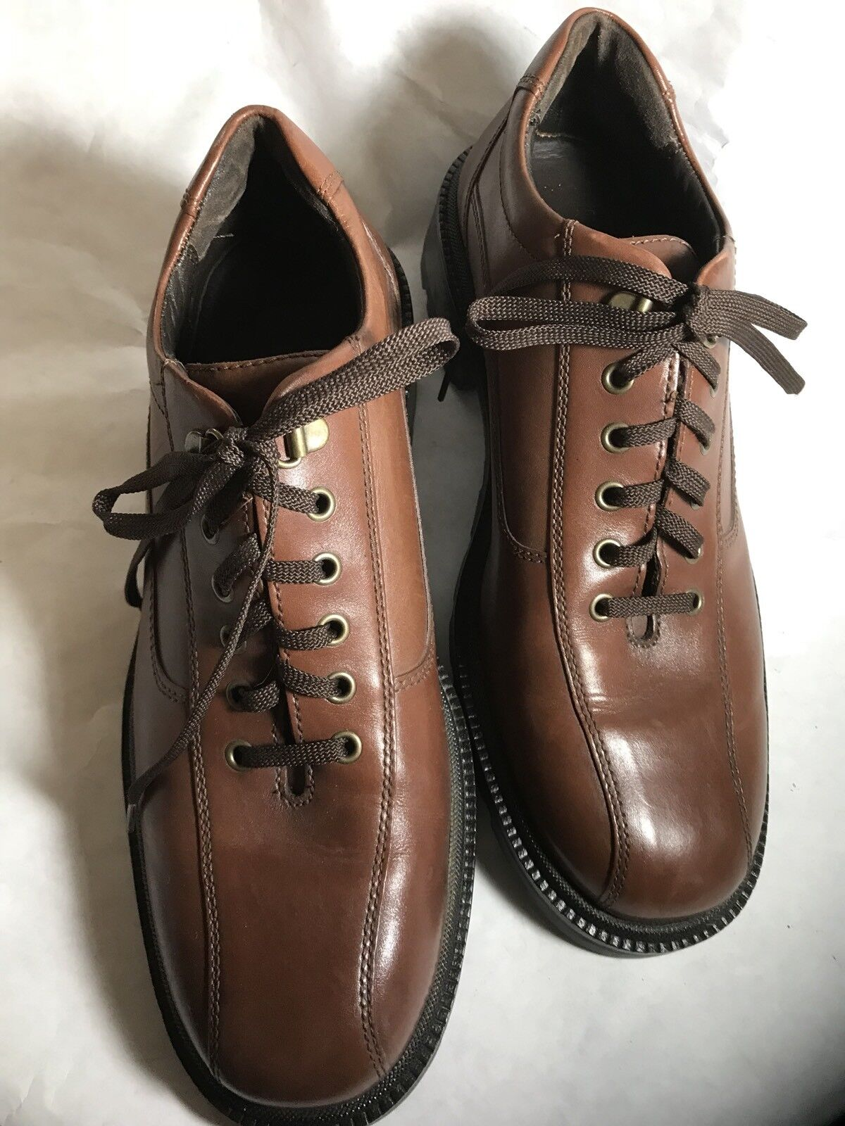 Cole Hasn Brown Lace Up Oxfords 8 1 2 Med. Style