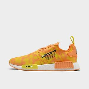 ADIDAS ORIGINALS NMD R1 STLT PRIMEKNIT CASUAL MEN's HAZEL ORANGE AUTHENTIC NEW