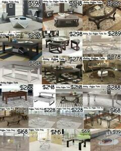 ASHLEY & IMPORTED  COFFEE TABLE SALE -  LIMITED QUANTITY Mississauga / Peel Region Toronto (GTA) Preview