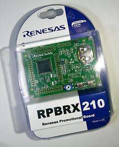 Renesas-RX210-Low-power-MCU-demo-board-RX200-RPBRX210