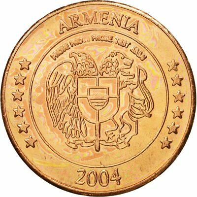 Essai 5 Cents 63 Sincere #434557 Copper Nourishing Blood And Adjusting Spirit Armenia Ms Medal 2004