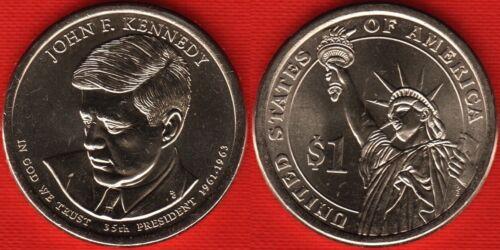 "Kennedy/"" UNC USA 1 dollar 2015 P mint /""John F"