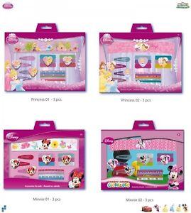 Haar-set Princess Oder Minnie Neu Letzter Stil WunderschöNen Disney 17tlg Kleidung & Accessoires