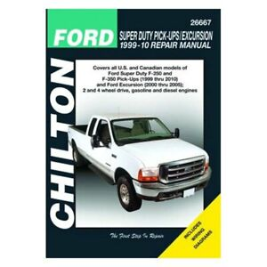 For Ford Excursion 00 05 Ford Super Duty Pick Ups Excursion Repair Manual Ebay