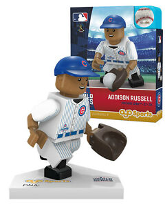 ADDISON RUSSELL #27 CHICAGO CUBS 2016 NL CHAMPIONS OYO MINIFIGURE BRAND NEW