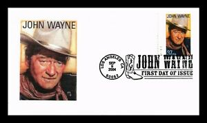 DR JIM STAMPS US JOHN WAYNE STICKER CACHET FIRST DAY COVER PICTORIAL CANCEL