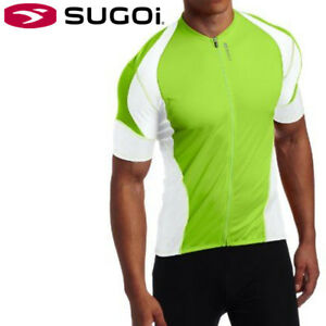 Sugoi-RPM-Men-039-s-Cycling-Jersey-M-L-XL-Lotus-Green