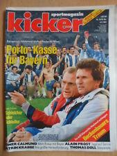 KICKER 18 - 4.3. 1991 Bayern-St.Pauli 0:1 Frankfurt-Lautern 4:3 Katrin Krabbe