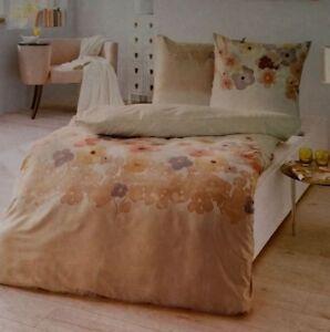 Kaeppel Mako Satin Bettwäsche Set 2 Teilig 135x200cm Blumenmuster Ebay