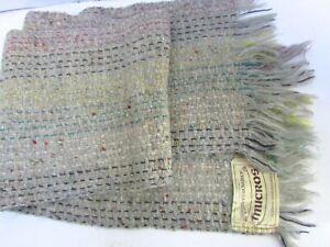 Mucros-Scarf-Mohair-Wool-Handwoven-Muckross-Killarney-Ireland-Grey-Ivory-Mutli