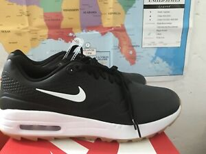 New Nike Air Max 1 G Spikeless Golf Shoes Black White Gum Aq0863 001 Sz 9 Men S Ebay