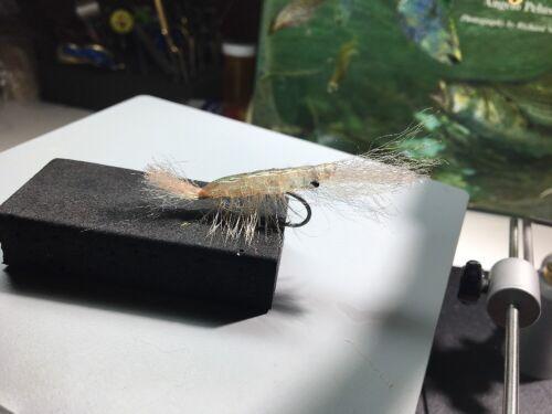 Saltwater Fly Ultra Shrimp Size 4 Bonefish,Redfish,Tarpon,Permit