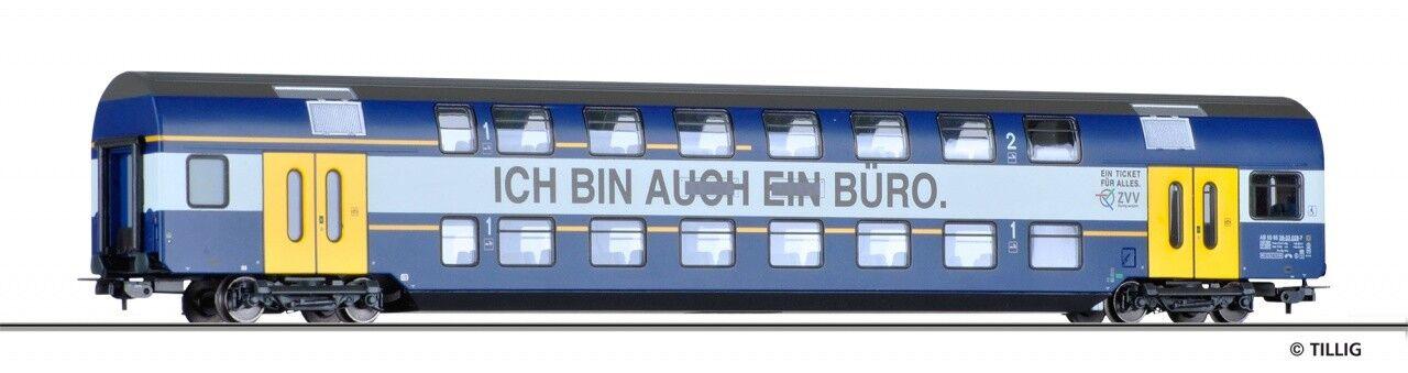 Nuevo-Tillig 73810 doble piso Cochero 1 2. clase S-Bahn Zúrich la SBB, h0, embalaje original