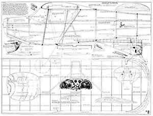 """Charmant Miniature Aircraft Corp Taylorcraft Échelle 1/4 108"""" 1942 Plan Set-afficher Le Titre D'origine"""