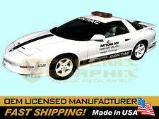 1994 Trans Am 25th Anniversary Pace Car Daytona 500 NASCAR Door Decal Stripe Kit