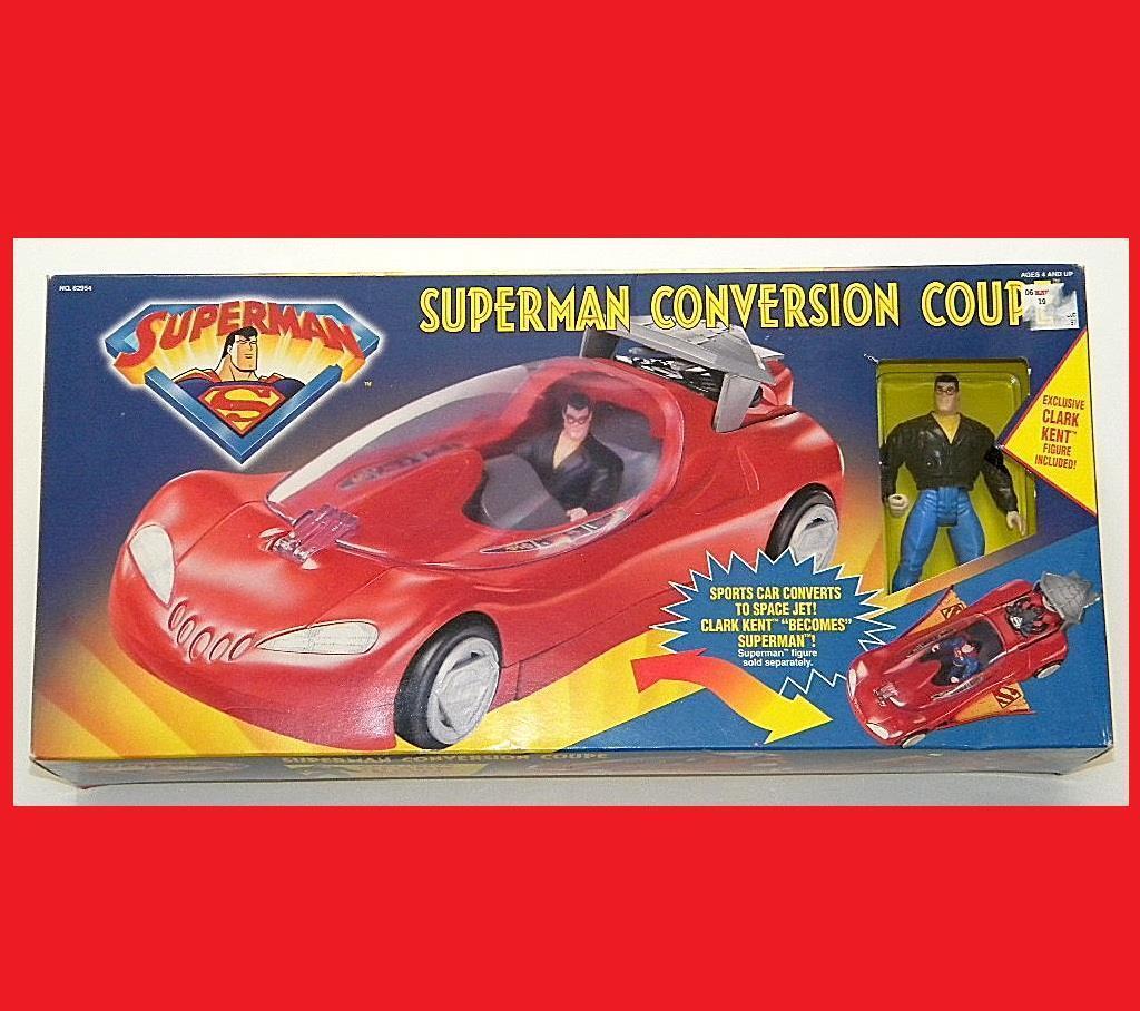 Superman umstellung coupé exklusive clark kent abbildung mint-in-box selten dc hasbro