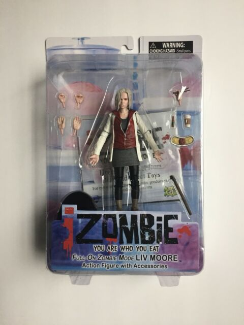 DC IZOMBIE YOU ARE WHO YOU EAT FULL ON ZOMBIE MODE LIVE MOORE ACTION FIGURE NEW