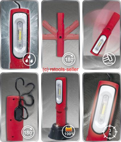 KS tools power LED Batterie Lampe de travail 6 watt lampe Citizen 150.4310 atelier lampe