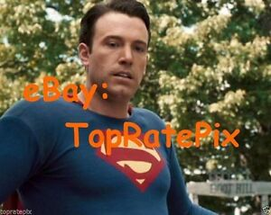 GLOSSY PHOTO PICTURE 8x10 Ben Affleck Posing For Photo