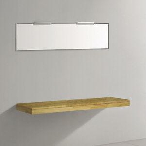 eiche holz waschtischplatte waschplatte waschtischkonsole waschtisch 150cm 1500n ebay. Black Bedroom Furniture Sets. Home Design Ideas