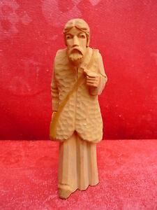 schone-alte-Krippenfigur-Holz-geschnitzt-14cm