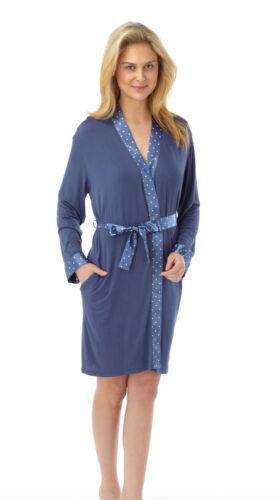 Ladies Long Sleeve Wrap//Gown Blue Size 20 Sale