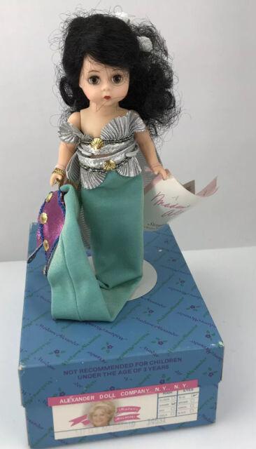 "Madame Alexander Little Mermaid 8"" Doll 14531 Original Box Stand Tag"