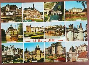 Schöne alte Ansichtskarte AK - Le Val de Loire Angers Saumur Usse Chinon
