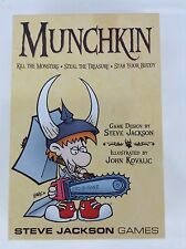 Original Munchkin 1st Edition Base Set 26th Printing Steve Jackson Games (Used)