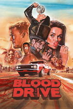 """001 Blood Drive - Alan Ritchson Horrible blood USA TV Show 14""""x21"""" Poster"""