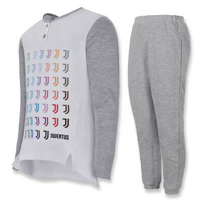 Persevering Juventus Pigiama Bambina Serafino Bianco Cotone Maglia Pantaloni Delaying Senility Clothing, Shoes & Accessories