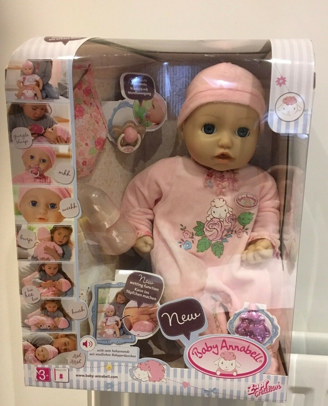 ZAPF CREATION BABY ANNABELL Lot 1