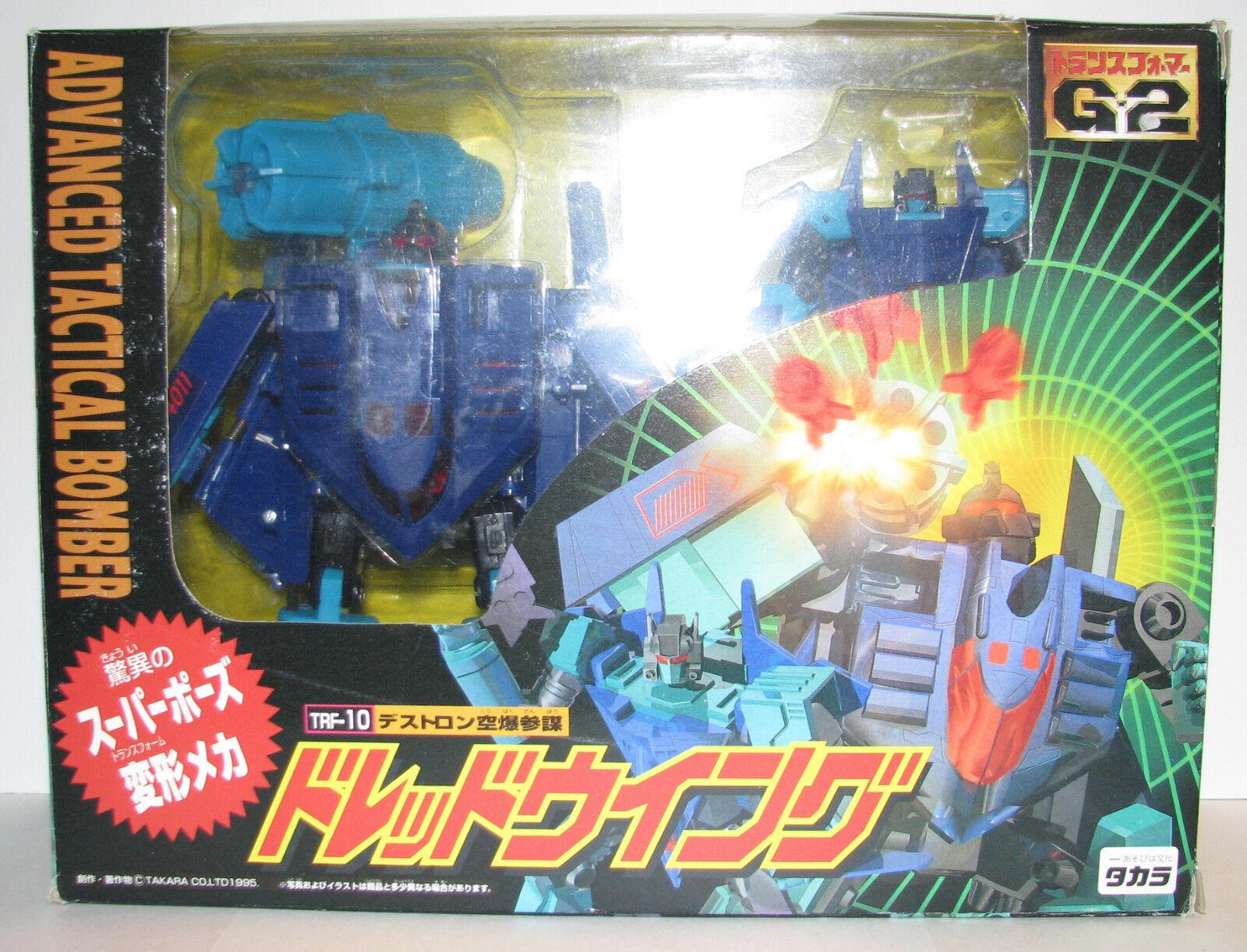 Takara Transformers Transformers Transformers Generation 2 TRF-10 Advance Tactical Bomber Dreadwing fbdc76
