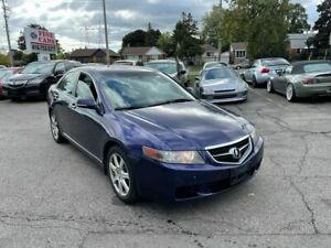 2004 Acura TSX Leather, heated seats, sunroof, certified